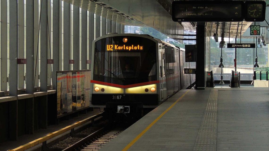 MHD vo Viedni - viedenské metro