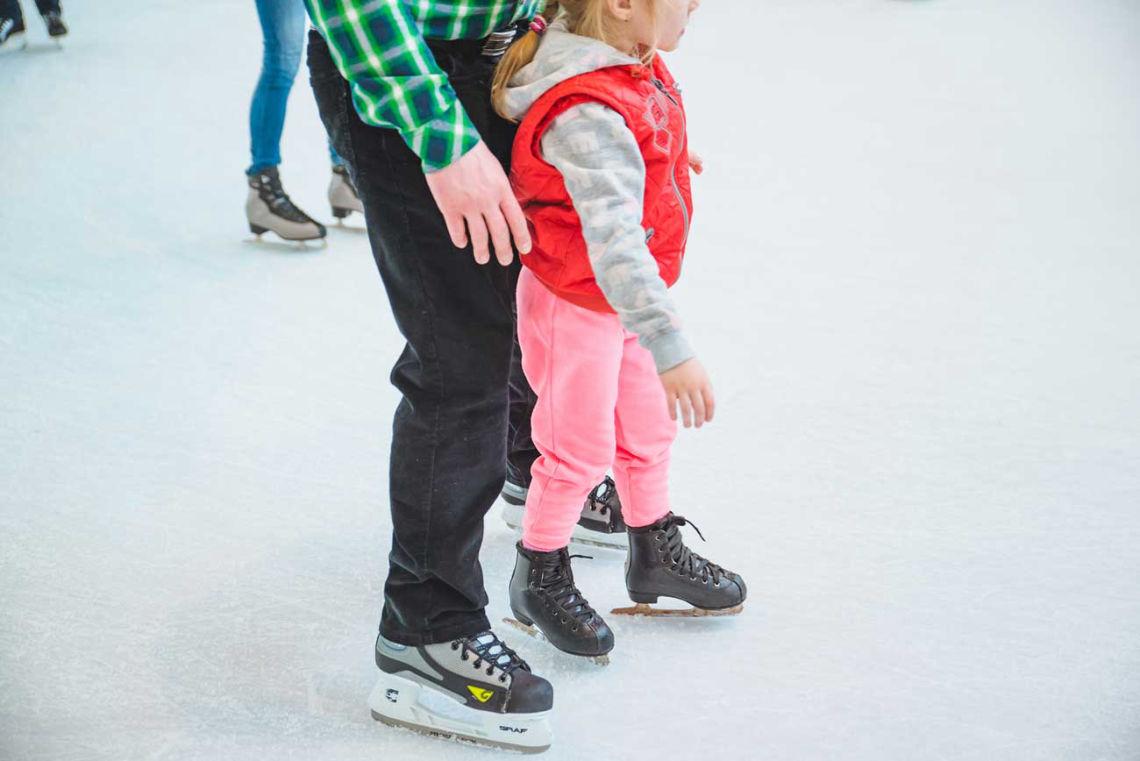 Korčuľovanie vo Viedni si užijú aj tí najmenší